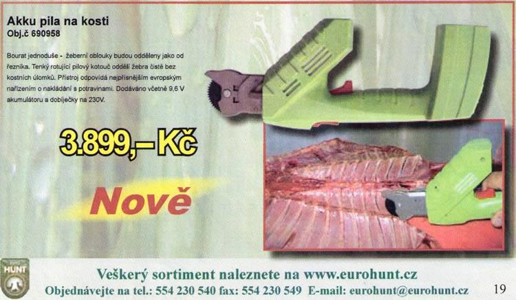 Elektrische Knochensäge - Anzeige eurohuntz.cz