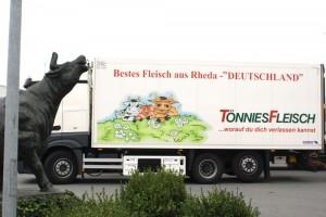 RS3 Vorführung bei Tönnies in Rheda-Wiedenbrück