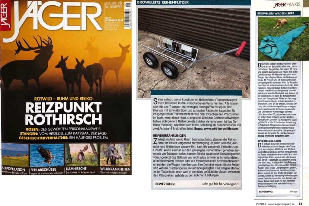 Jägermagazin 9/2018